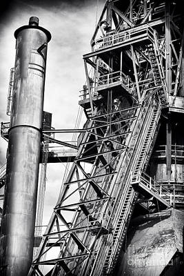 Photograph - The Steel Mill by John Rizzuto