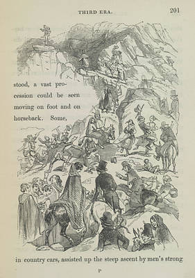 Eve Photograph - The Steep Ascent by British Library