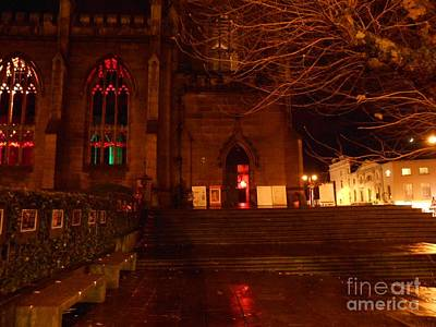 Photograph - The Steps To St Lukes by Joan-Violet Stretch