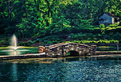 The Stone Bridge Art Print by Darren Fisher