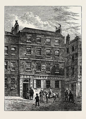 The Stone House Knightrider Street. From A Print In The Art Print by English School