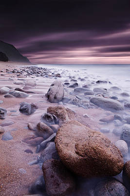 Core Photograph - The Stone Land by Jorge Maia