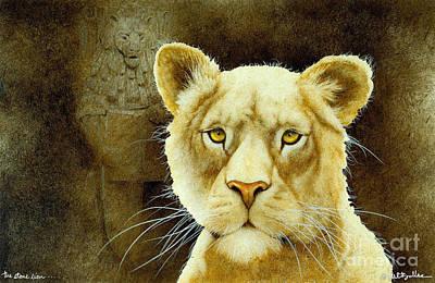 The Stone Lion... Art Print