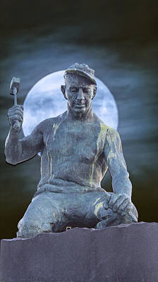 Photograph - The Stone Mason by John Haldane