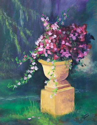 Painting - The Stone Planter by Dominic Sanson