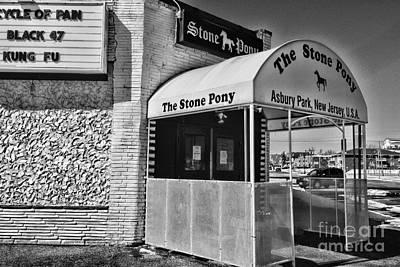 The Stone Pony 1 Art Print by Paul Ward