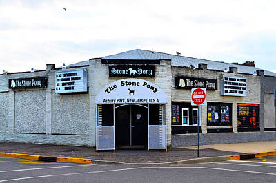 The Stone Pony Art Print by Bill Cannon