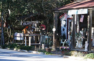 The Store At Bluffton Art Print