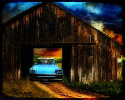 Old Country Roads Digital Art - The Stories It Holds by Wishes and Whims Originals By Michelle Jensen