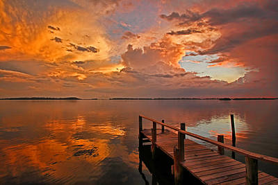 Photograph - The Storm by HH Photography of Florida