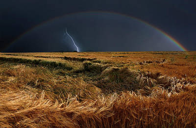 Lightning Wall Art - Photograph - The Storm Is Over by Nicolas Schumacher