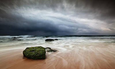 Ocean Storm Photograph - The Storm by Jorge Maia