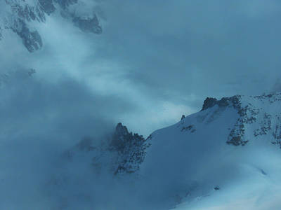 Photograph - The Storm On Mont Blanc by Frank Wilson