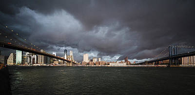 Photograph - The Storm Over Manhattan by Alex Potemkin