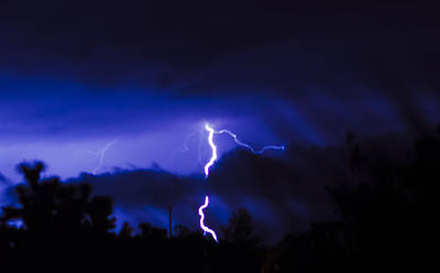 Canon Rebel T2i Photograph - The Storm That Saved A Town From A Fire by Carolina Liechtenstein