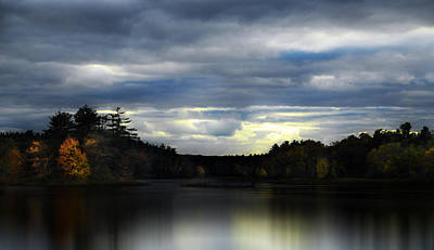 Autumn Photograph - The Storm by William Carroll