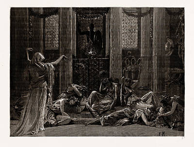 The Story Of Orestes, At The Princes Hall Art Print by Litz Collection