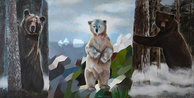 The Story Of The White Bear Art Print by Jukka Nopsanen