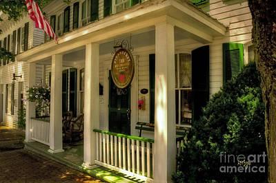 Photograph - The Strawberry Inn by Lois Bryan