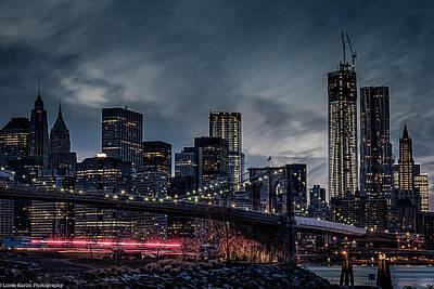 Art Print featuring the photograph The Streaker In Nyc by Linda Karlin