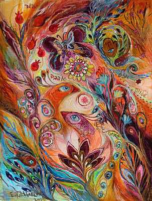 Swarovski Painting - The Stream Of Life Part I by Elena Kotliarker