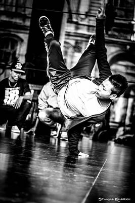 Art Print featuring the photograph The Street Dancer by Stwayne Keubrick