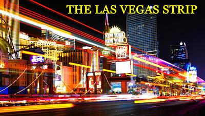 Photograph - The Strip Las Vegas by David Lee Thompson