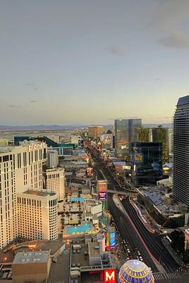 Photograph - The Strip  Las Vegas by Willie Harper