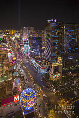 Photograph - The Strip by Shishir Sathe