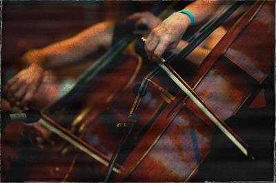Photograph - The Stroke Of The Cellist by Sheryl Thomas