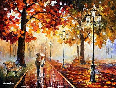 Infinity Painting - The Stroll Of Infinity by Leonid Afremov