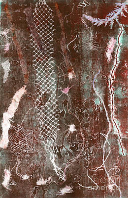 Printmaking Mixed Media - The Structure Of Dreams by Traci Bunkers