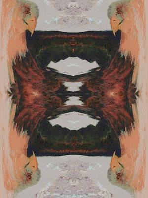 Struggling Digital Art - The Struggle by Ernie Echols