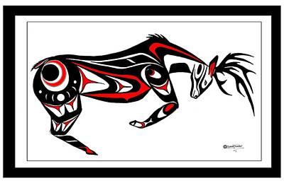 The Stud Buck Art Print by Speakthunder Berry