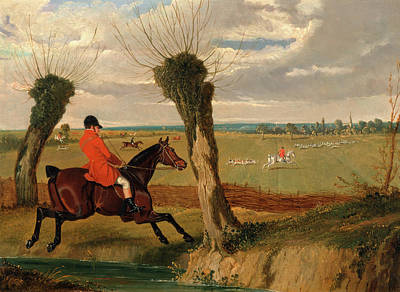 Crying Painting - The Suffolk Hunt Full Cry The Suffolk Hunt - Full Cry by Litz Collection