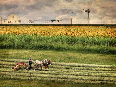 Digital Art - The Summer Cutting by Lori Deiter