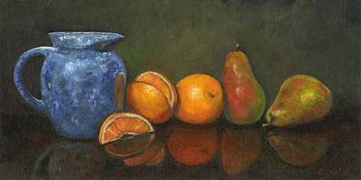 Impression Painting - The Summer Kitchen by Linda Dunbar