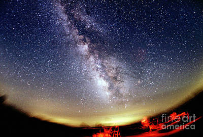 The Summer Milky Way Print by Chris Cook