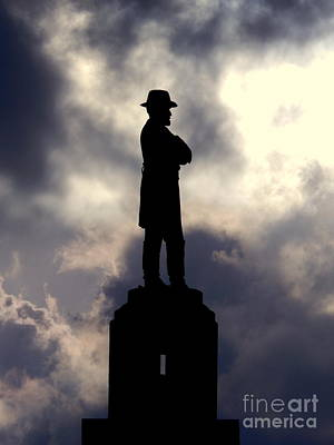 Photograph - The Summer Solstice Of The Statue Of General Robert E. Lee In New Orleans Louisiana by Michael Hoard