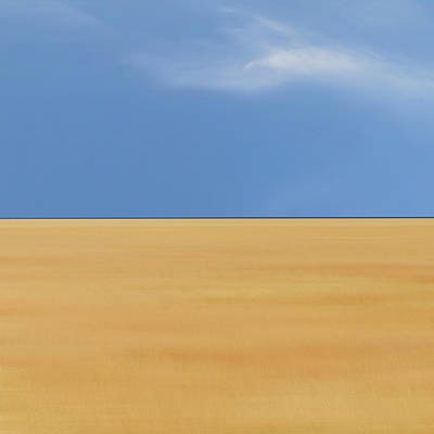 Abstract Landscape Photograph - The Summer We Fell In Love by Piet Flour
