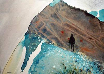 The Summit Art Print by Ed  Heaton