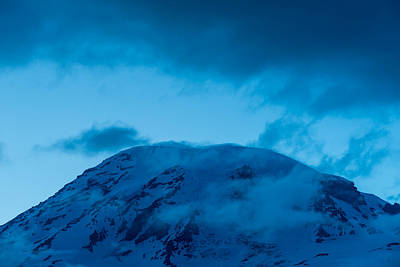 The Summit Mt Rainier Art Print