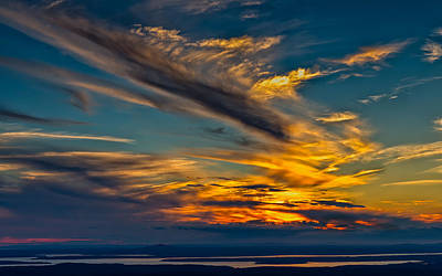 Photograph - The Sun Also Sets by John M Bailey