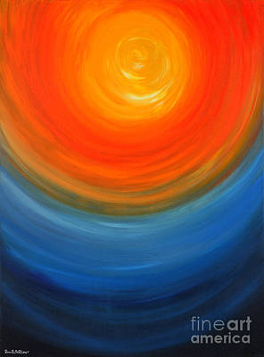 The Sun And The Sea Art Print by Roni Ruth Palmer