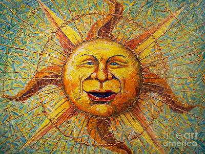 Painting - The Sun King by Gail Allen