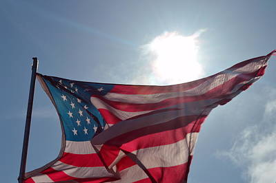 Photograph - The Sun Of America 2 by Sheldon Blackwell