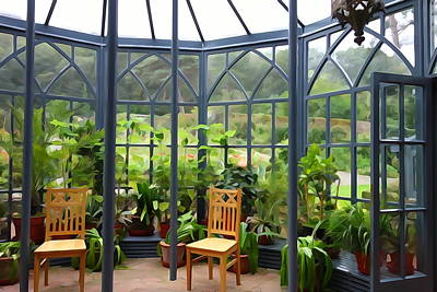 Photograph - The Sun Room by Charlie and Norma Brock