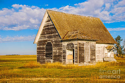 Photograph - The Sunbeam Church by Mary Carol Story