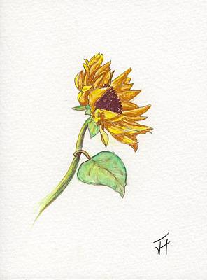The Sunflower Art Print