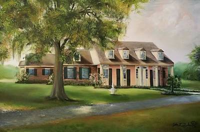 Painting - The Sunrise House by John  Duplantis